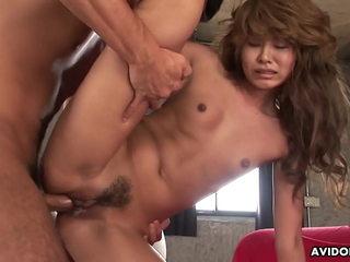Asian girl, Hitomi Mano had hardcore sex, uncensored