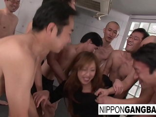 Japanese Non-specific Ready-to-serve She's Spunking Pussy Licking. Beseecher Be required of Some Cock. Will You Far hosepipe down In the air Her?