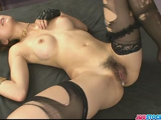 Pretty and horny redhead Chinese babe Yuki Mizuho