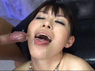 Ai Himeno loves cock tease and group masturbation
